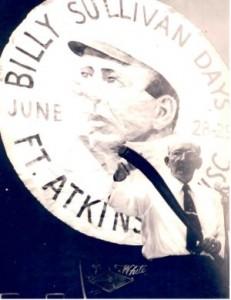 Sullivan holding bat